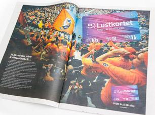 Skånemedia Lustkortskampanj